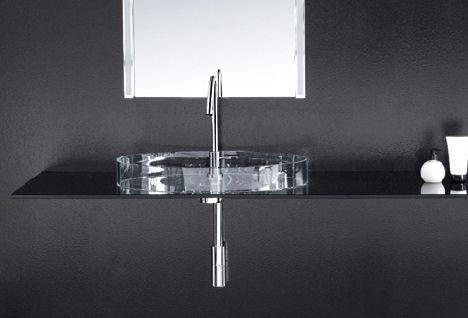 cogliati cogliati glass vessel Glass Sink from Cogliati Cogliati   new glass sinks