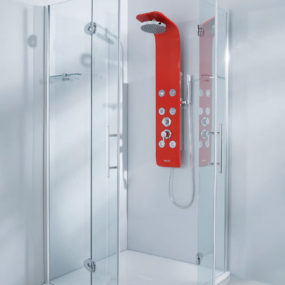 Modern Shower Panel Designs from Colacril – Linea Creativity