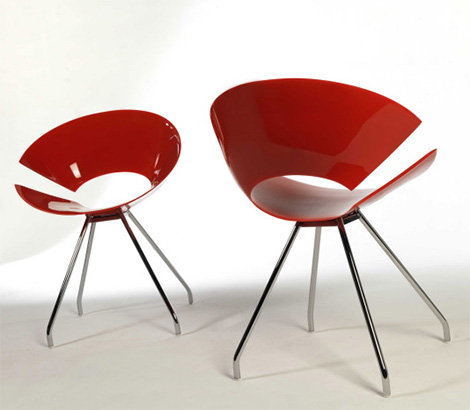 colico design diva chairs2 New Diva Chair collection from Colico Design   a chair with strong presence