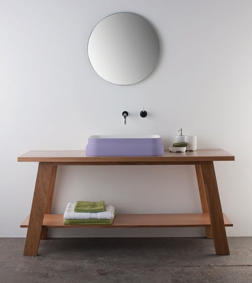 colored basins omvivo softskin 1 Colored Basins by Omvivo   new Softskin basin collection