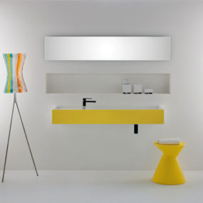 Colored Basins by Omvivo – new Softskin basin collection