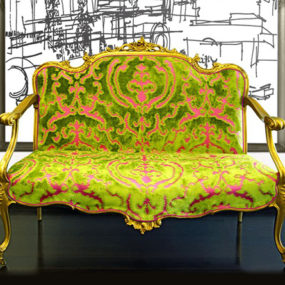 Colorful Interior Fabrics by Cassaro