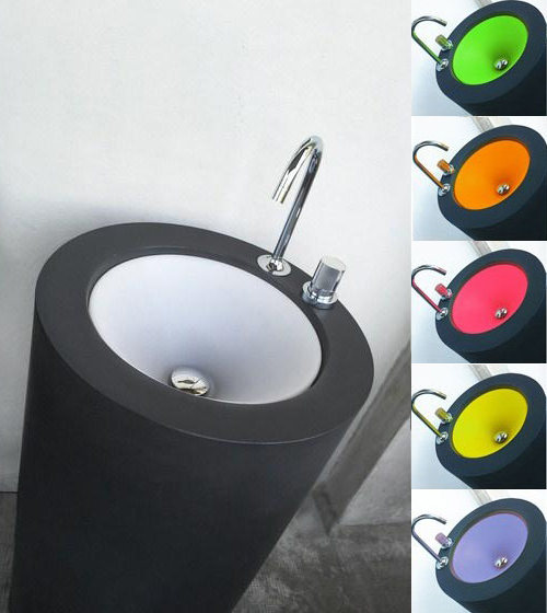 Colorful Pedestal Sink Wet Fusion 4 Colorful Pedestal Sink By Wet New  Fusion II