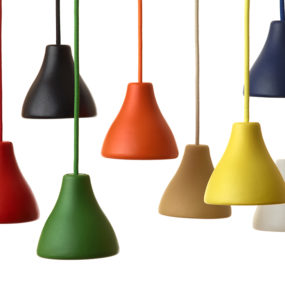 Colorful Vintage Style Aluminum Pendants: W131 by Wastberg