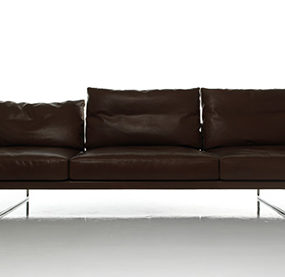 Comfortable Leather Sofa – new versatile sofa TOOT by Cassina