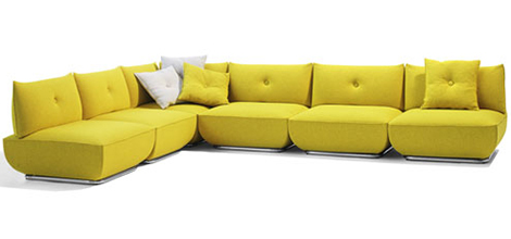 Comfortable Modern Sofa By Bla Station