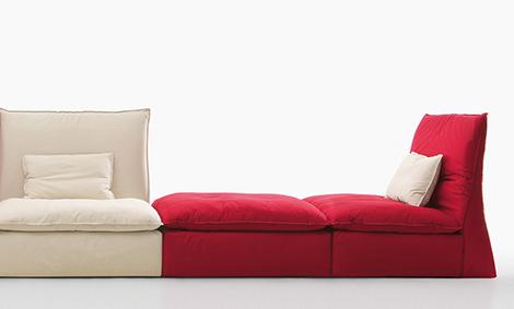 comfy lounge sofa saba italia les femmes 4 Comfy Lounge Sofa by Saba Italia   Les Femmes