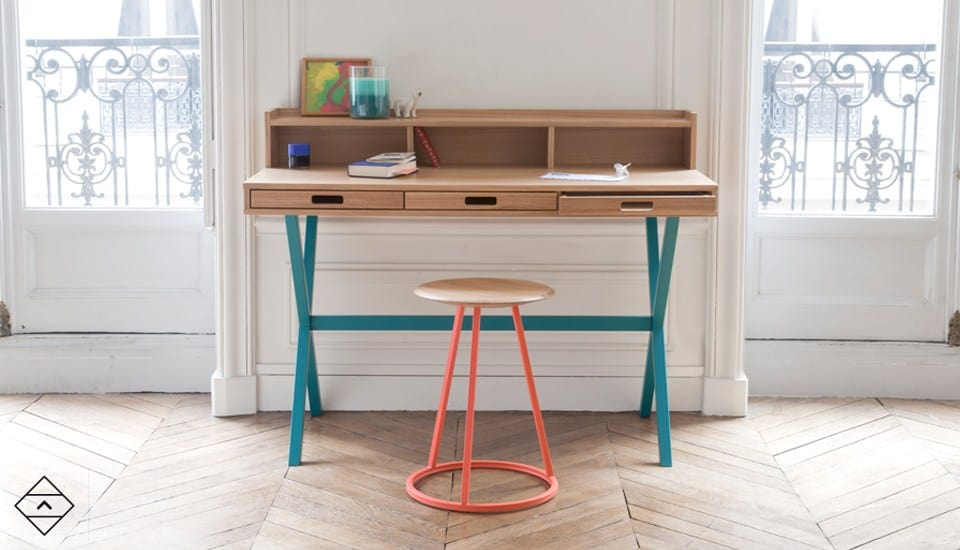 Compact Secretary Desk And New Collection From Harto