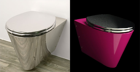 compact toilet for small bathrooms miniloo neo metro 2 Compact Toilet for Small Bathrooms   MiniLoo pink toilet by Neo Metro