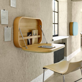 Compact Wall-mount Work Desk Nubo by Ligne Roset