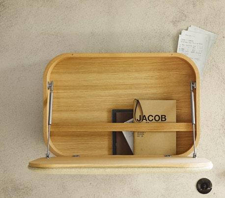 compact wall mount work desk nubo by ligne roset 3 Compact Wall mount Work Desk Nubo by Ligne Roset