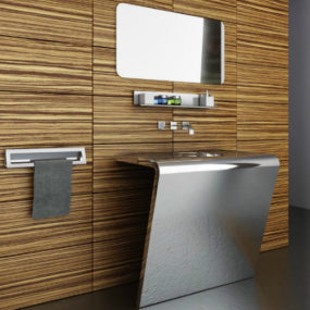 Futuristic Bathroom Vanities by Componendo