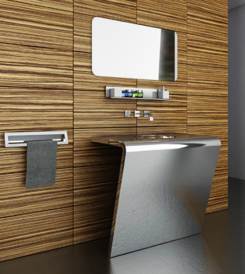 View In Gallery Componendo Vanity Settantacinque 1 Futuristic Bathroom Vanities By