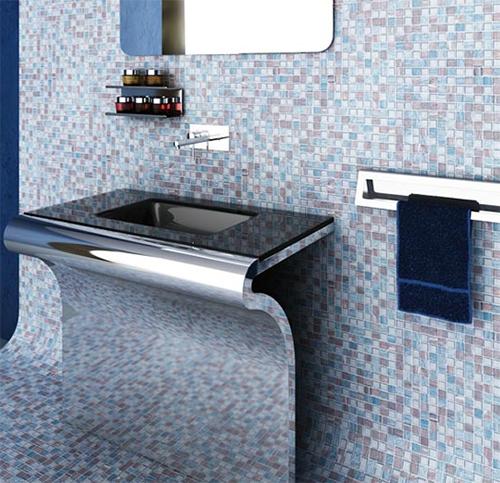 Futuristic Bathroom Vanities By Componendo