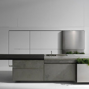 Concrete Kitchens by Steininger