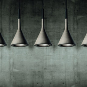 Concrete Lamps by Foscarini – Aplomb Lamp