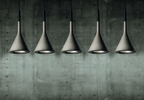 concrete lamps foscarini aplomb lamp 1 Concrete Lamps by Foscarini   Aplomb Lamp