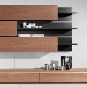 Wall Unit by Condehouse – Tosai Japanese wall system