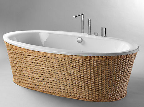 freestanding tub with jets. Freestanding Whirlpool Tub from Condor Balneo  the Louise