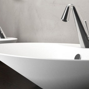Cone Faucets by Gessi: Contemporary Art for the Bathroom