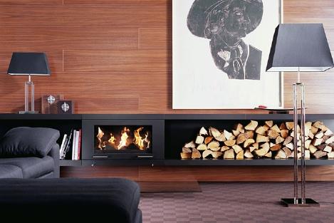 conmoto balance fireplace 1 Modular Fireplace System from Conmoto   the Balance fireplace