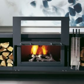 Modular Fireplace System from Conmoto – the Balance fireplace