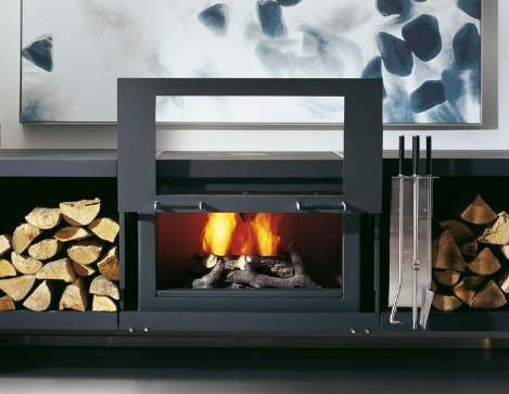 Conmoto Balance Fireplace 2 Modular Fireplace System From Conmoto The  Balance Fireplace