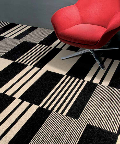 Contemporary Carpet Tiles Modular Decorative Floor Carpet Tile By Interfaceflor