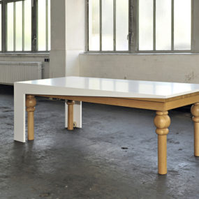 Ultra Modern Dining Table by Kisskalt