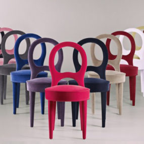 Contemporary Italian Dining Chairs by Promemoria
