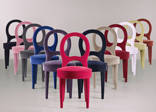 contemporary italian dining chairs promemoria 1 Contemporary Italian Dining Chairs by Promemoria