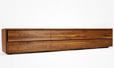contemporary storage furniture solid hardwood izm 4