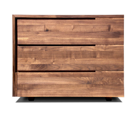 Contemporary Storage Furniture Solid Hardwood Izm 5