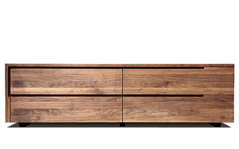 contemporary storage furniture solid hardwood izm 6