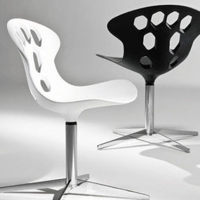 Contemporary swivel chairs by Tonon – Exagon
