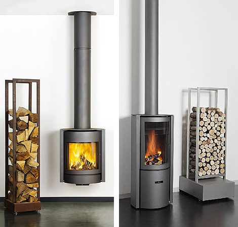 Wood Burning Stoves Simple Home Decoration