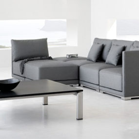 Contemporary Zen Style Outdoor Furniture by Manutti