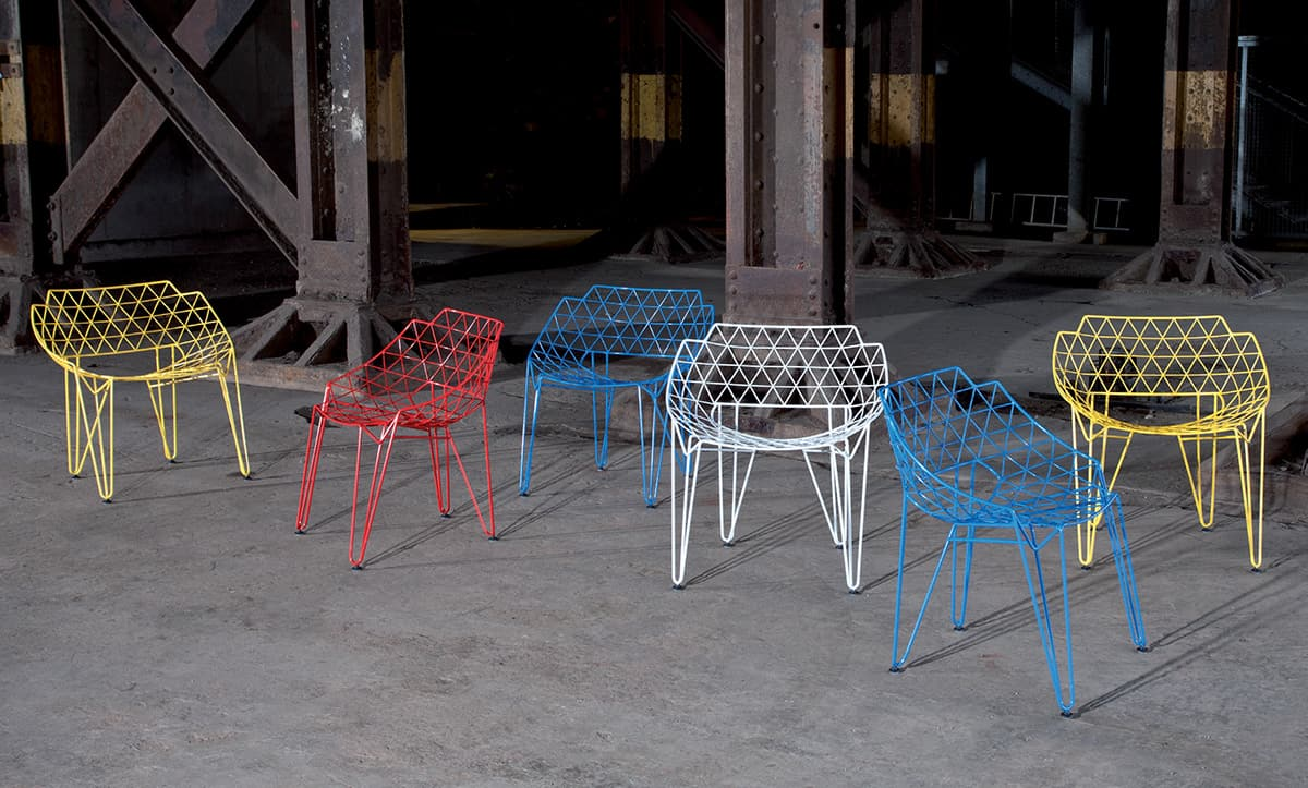 Continuous Wire Chair By Wilde + Spieth: CU!