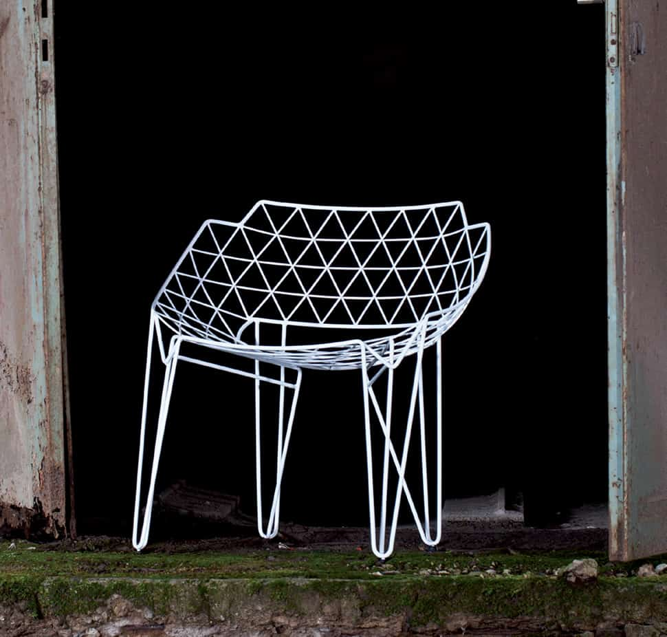 Continuous Wire Chair By Wilde Spieth Cu