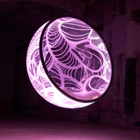 Cool Bubble Chairs by Rousseau – LED illuminated