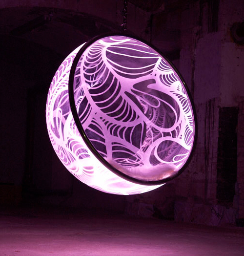 cool bubble chairs rousseau illuminated 1