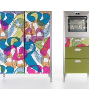 Cool Colorful Kitchens: Alpes by Karim Rashid