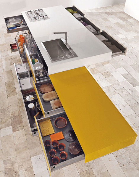 cool kitchens creative designs lago 2 Cool Kitchens   Creative Kitchen Designs by Lago