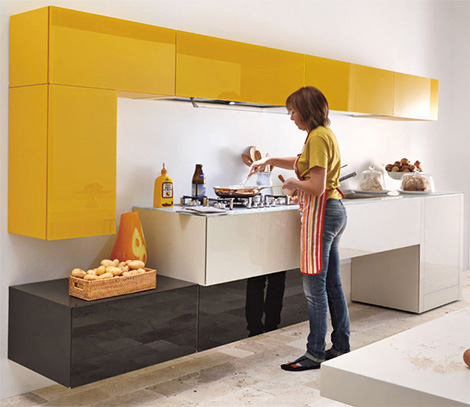 Cool Kitchens Creative Designs Lago 3
