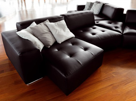 cool leather sofas ditre italia 2 Cool Leather Sofas   build your sofa as you dream it, by Ditre Italia