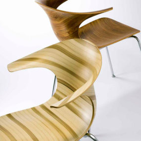 Cool Modern Chairs 'Loop 3D Vinter' by Infiniti Design