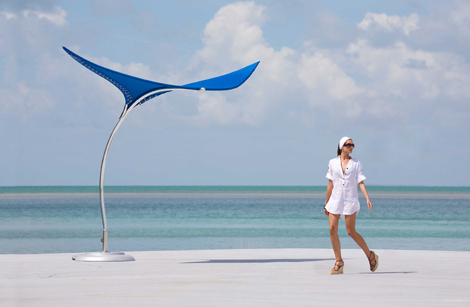 cool shade parasol stingray tuuci 2 Cool Shade Parasol   Stingray Shade Sculpture by Tuuci