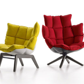 Cool Upholstered Chairs – Husk by B&B Italia
