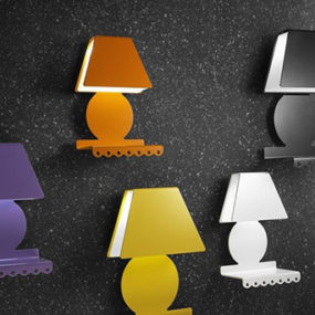 Cool Wall Lamps with Shelf by Zeroombra