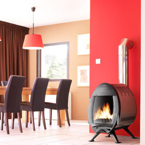 Cool Wood Stoves – wood burning cast iron stoves by Invicta